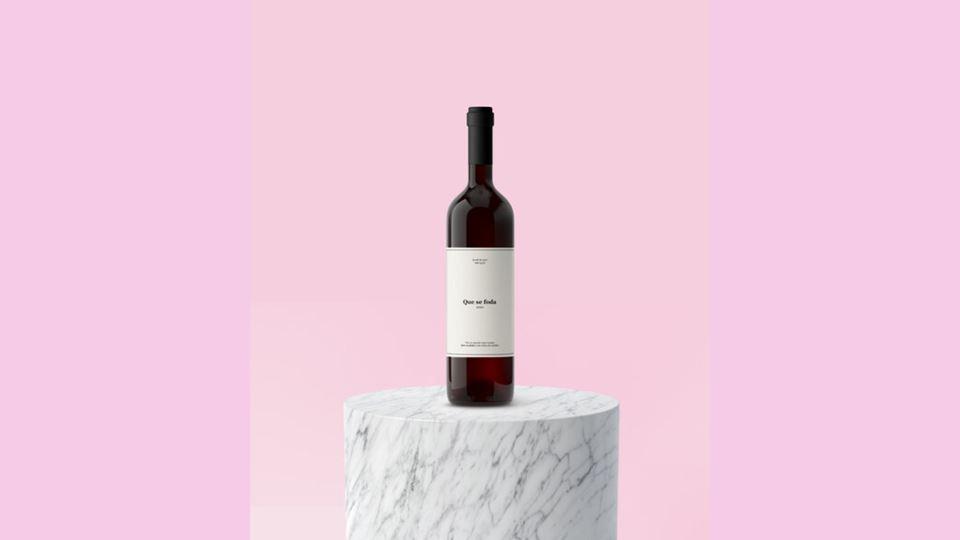 """""""Que se ---- 2020"""", o vinho qu..."""