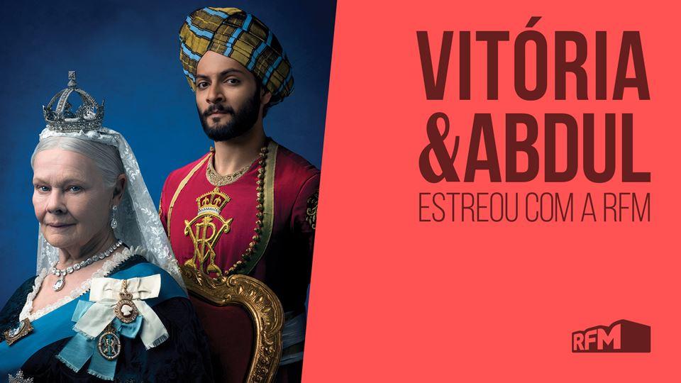 Vitoria e Abdul estreia dia 28...