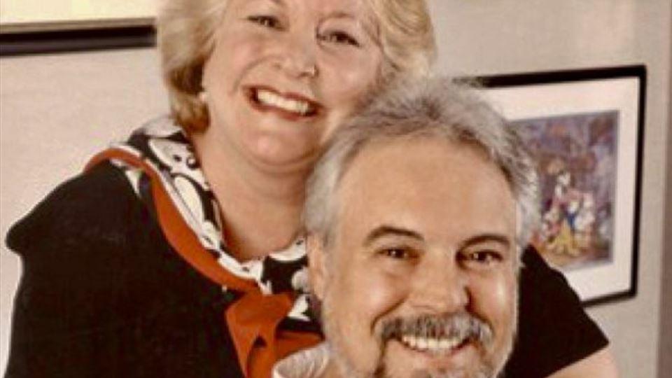 Wayne Allwine e Russi Taylor - as vozes do Mickey e da Minnie