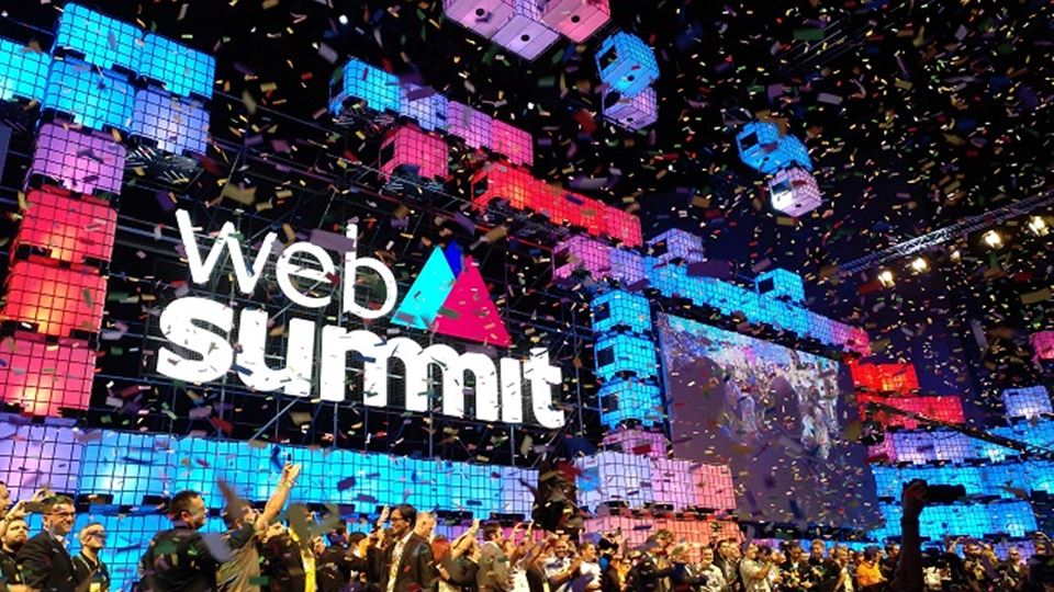 Web Summit começou com Lisboa ...