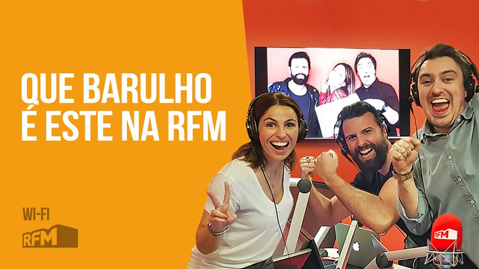 Wi-Fi da RFM dá Barulho em ple...