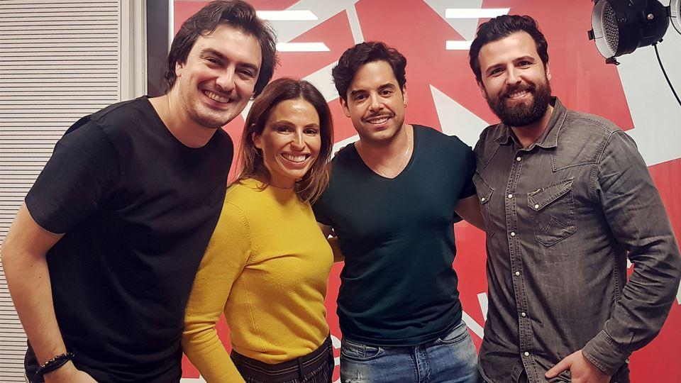 O ator Pedro Carvalho no Wi-fi da RFM