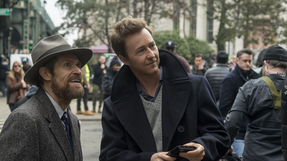 Edward Norton e Willem Dafoe - os órfãos de Brooklyn