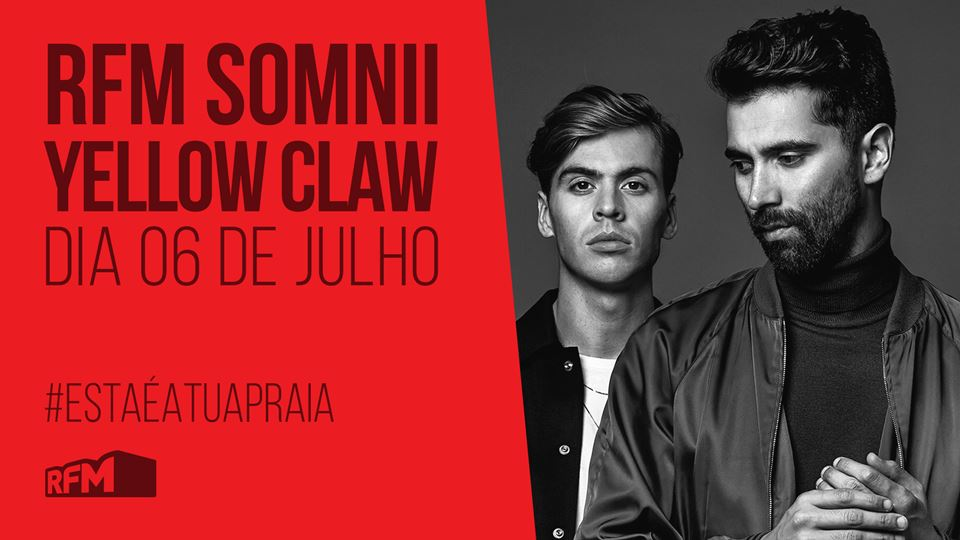 RFM SOMNII - Yellow Claw - 6 j...