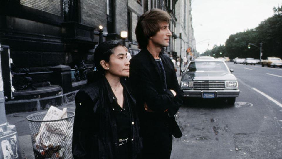 "John Lennon e Yoko Ono ""Double Fantasy"" 1980"