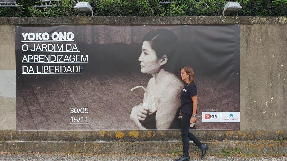Exposição de Yoko Ono em Serralves